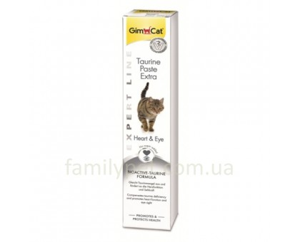 GimCat Expert Line Taurine Extra Паста для кошек с таурином 50 г