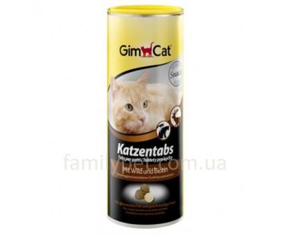 Gimpet Katzentabs Витамины для кошек с дичью 710 таблеток