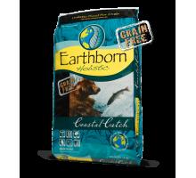 Earthborn Holistic DOG Coastal Catch Сухой беззерновой корм для собак с белой рыбой
