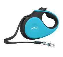 AnimAll DeLuxe Рулетка-поводок S лента до 15 кг 5 метров