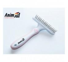 AnimAll Groom Расческа-грабли для собак и кошек