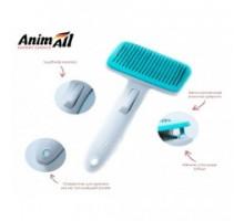 AnimAll Groom Расческа с автоматической системой очистки для кошек и собак