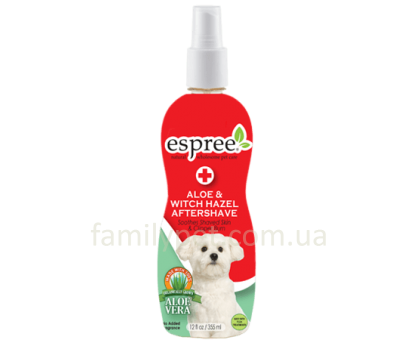 ESPREE Aloe&Witchhazel Aftershave Профессиональный спрей после тримминга, бритья 355 мл