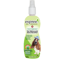 ESPREE Tea Tree & Aloe Spray Успокаивающий спрей для кожи и шерсти  355 мл