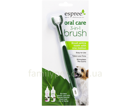 ESPREE Oral Care Toothbrush 3-in-1  Щетка по уходу за зубами