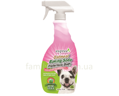ESPREE Oatmeal Baking Soda Spray Спрей для очистки кожи и шерсти 355 мл