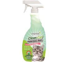 ESPREE Clean Cat Waterless Bath Спрей для чистки ковров 710 мл