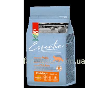 Essentia Adult Outdoor Беззерновой корм для кошек с курицей