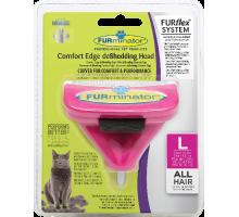 FURflex насадка против линьки  для больших кошек размер L