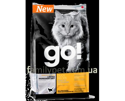 GO! SENSITIVITY + SHINE™ LIMITED INGREDIENT Беззерновой корм для кошек и котят с уткой