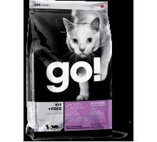 GO Беззерновой для Котят и Кошек - 4 вида Мяса: Курица, Индейка, Утка и Лосось