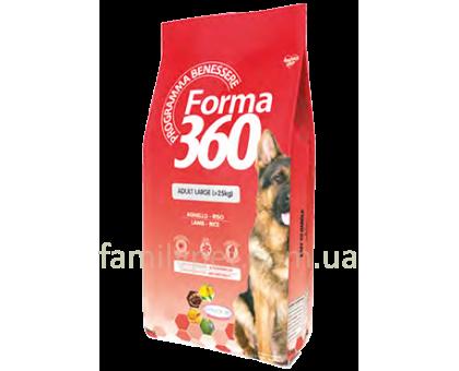 Forma 360 Dog Adult Large Lamb Корм для крупных пород с ягненком и рисом 12 кг