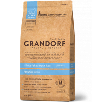 Grandorf White Fish & Rice All Breeds - белая рыба для взрослых собак