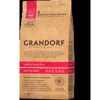 Grandorf Lamb & Brown Rice – Adult All Breeds - ягненок с коричневым рисом для взрослых собак всех пород