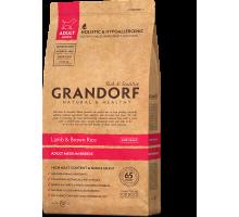 Grandorf Adult Medium Breed - ягненок с рисом для взрослых собак