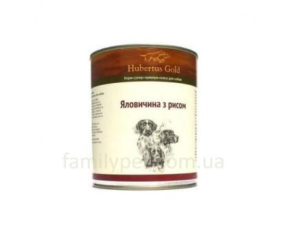 Hubertus Gold говядина с рисом (800г)