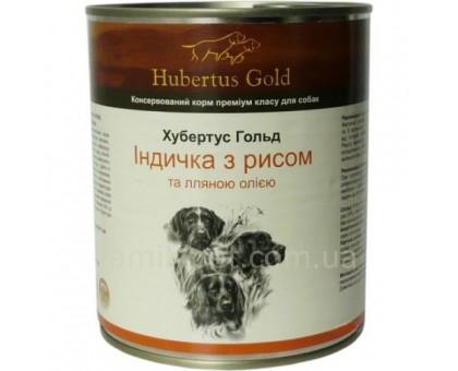 Hubertus Gold Индейка с рисом (800г)