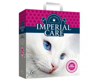 Imperial Care Baby Powder Ультра-комкующийся наполнитель для кошачьих туалетов