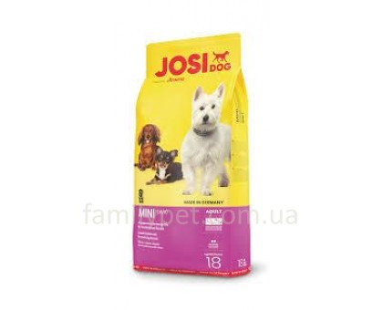 JosiDog Mini Корм для собак мини пород