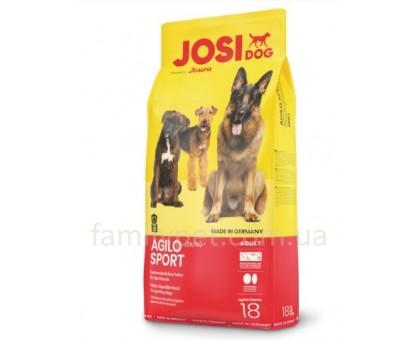 JosiDog Agilo Sport Корм для активных собак 18 кг