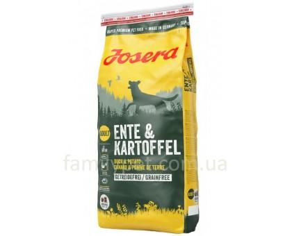 Josera Ente&Kartoffel Корм для собак всех пород с уткой и картофелем 15 кг