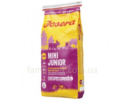 Josera Mini Junior Корм для щенков мелких пород