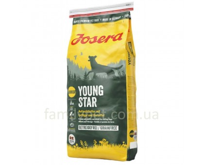 Josera YoungStar Корм для щенков средних и крупных пород
