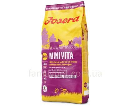 Josera MiniVita Корм для стареющих собак мини пород