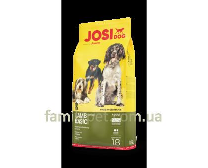 JosiDog Lamb Basic Диетический корм для собак с ягненком 18 кг