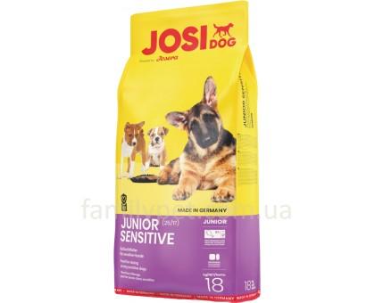 JosiDog Jonior Sensetive Корм для щенков с чувствительным пищеварением