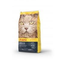 Josera Catelux Корм для кошек с уткой и птицей для выведения шерсти