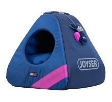 Joyser Chill Cat Home ДЖОЙСЕР домик для котов, игрушка летучая мышь с кошачьей мятой сине/розовый 40х40х41 см