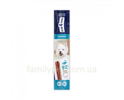 CLUB 4 PAWS Мясная палочка для собак для чувствительного пищеварения с лососем