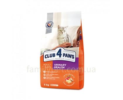 CLUB 4 PAWS Premium Сухой корм для кошек с профилактикой мочекаменной системы