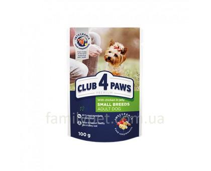 CLUB 4 PAWS Premium Консерва для собак с курицей