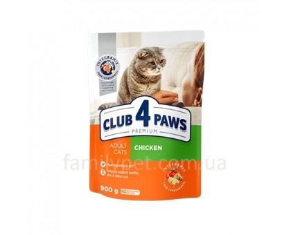 CLUB 4 PAWS Premium Сухой корм для  взрослых кошек с курицей