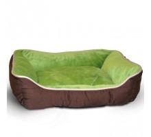 K&H Self-Warming Lounge Sleeper Самосогревающийся лежак для собак и котов кофейный/зеленый