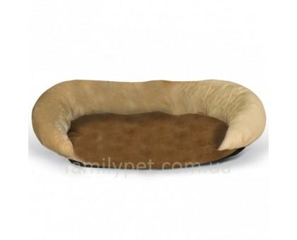 K&H Bolster Самосогревающийся лежак для собак  шоколадный