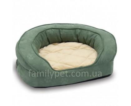 K&H Deluxe Ortho Bolster Sleeper Ортопедический лежак для собак зеленый