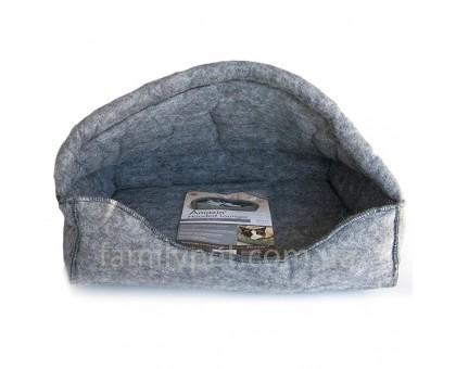 K&H Amazin Hooded Лежак-домик для кошек серый