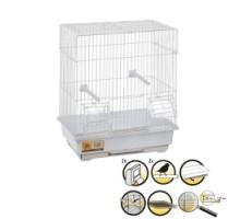 Flamingo DOLAK Клетка для птиц белая металлическая  30х22,5х38 см