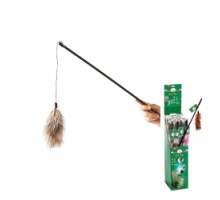 Flamingo FEATHER-BOA Игрушка дразнилка для кошек 60 см