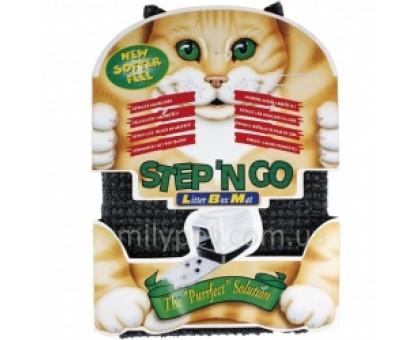 Flamingo LITTER BOX MAT Коврик для кошачьего туалета серый