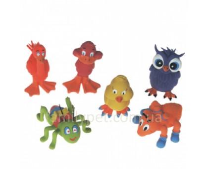 Flamingo LANDANIMAL Игрушки для собак забавные зверьки из латекса