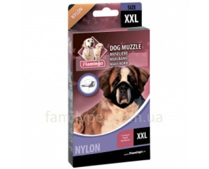 Flamingo MUZZLE NYLON XXL Намордник для собак гигинтских пород нейлон