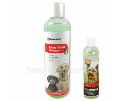 Flamingo Aloe Vera Shampoo  Шампунь для собак с алоэ вера для любого типа шерсти 300 мл