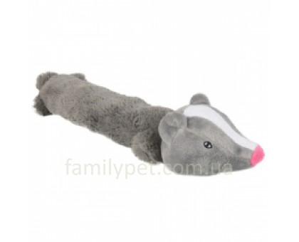 Flamingo Badger Мягкая игрушка для собак барсук 36 см