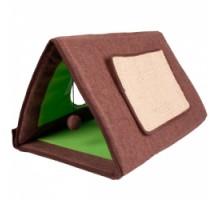 Flamingo Cat Tent 3in1 Спальное место, палатка-домик  для котов 3в1