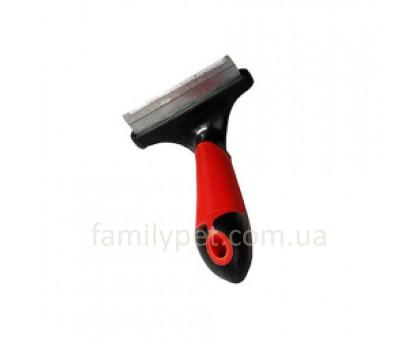Flamingo Furmaster Инструмент для вычесывания линяющей шерсти у собак 76 мм