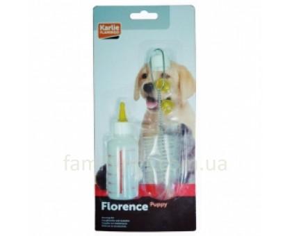 Flamingo Feeding Bottle For Pups Набор для вскармливания щенков котят и мелких животных 60 мл